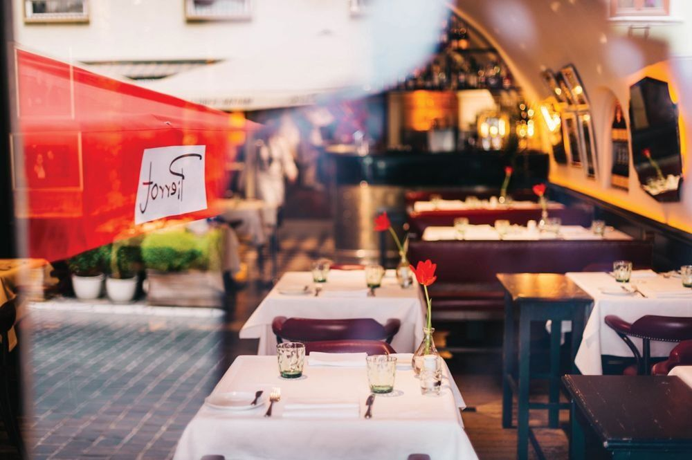 Seit 37 Jahren eines der erfolgreichsten Restaurants in Budapest: Das Pierrot.